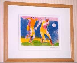 ポールギアマンのサッカーの絵