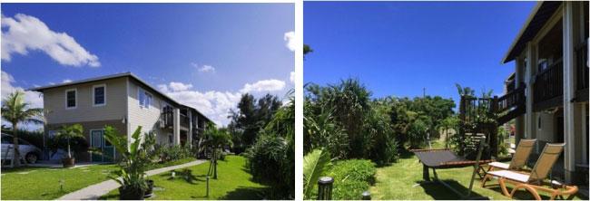 沖縄県の瀬底島にある豪華な一軒家