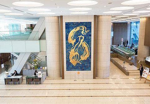 東京ドームホテルの館内美術品|無料で楽しむパブリックアート