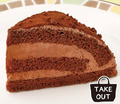 サイゼリヤのチョコレートケーキ