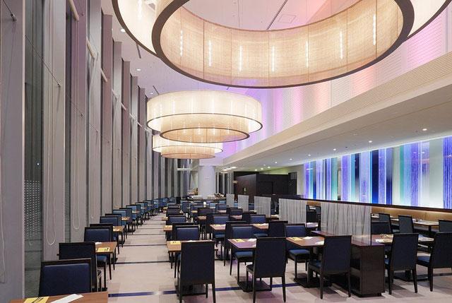 東京ドームホテルのレストラン「リラッサ」